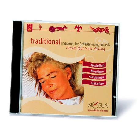 "CD ""Dream your inner healing"""