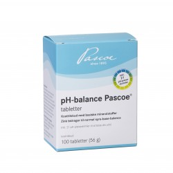 pH-balance tabletter 100 stk. / Calcium/Magnesium/Zink tablet